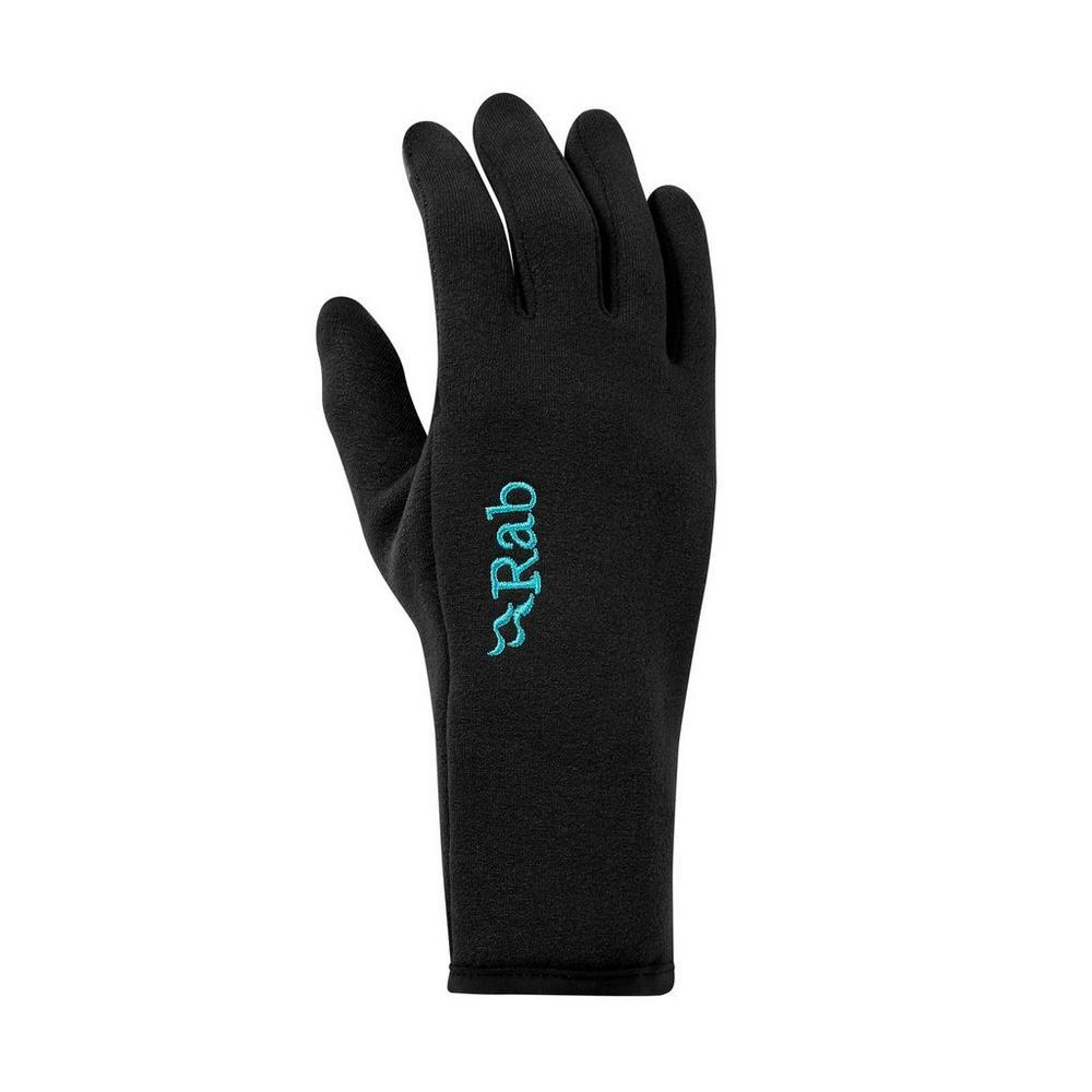 Rab Women's Power Stretch Contact Glove - Black
