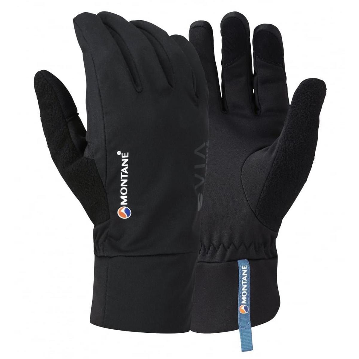 Montane Gloves SOFTSHELL Men's Via Trail Black