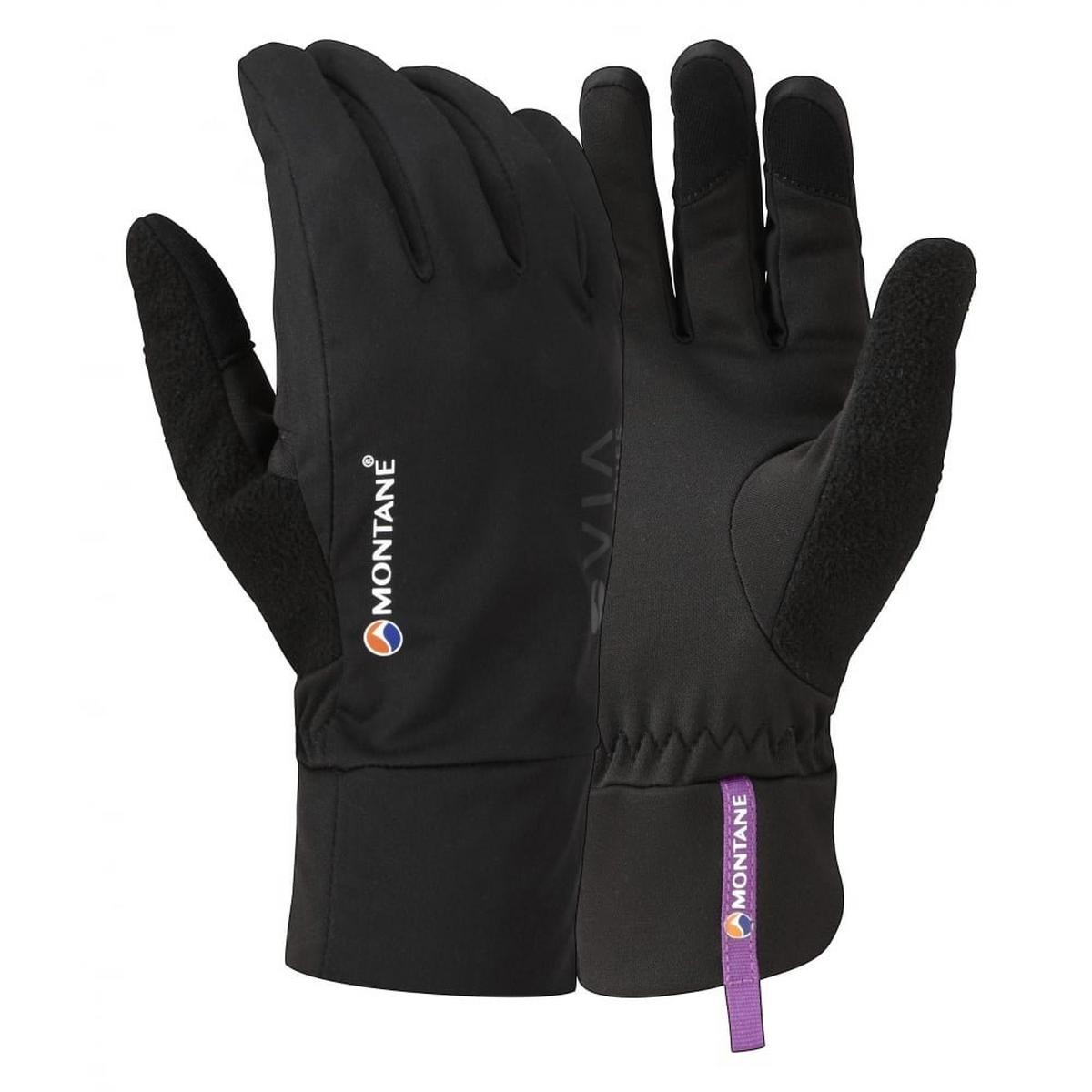 Montane SOFTSHELL Gloves Women's Via Trail Black