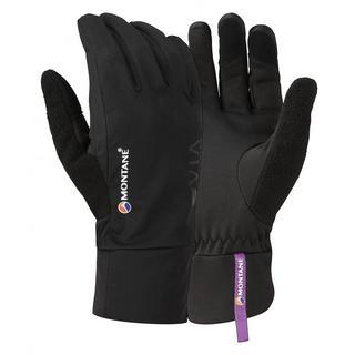 SOFTSHELL Gloves Women's Via Trail Black