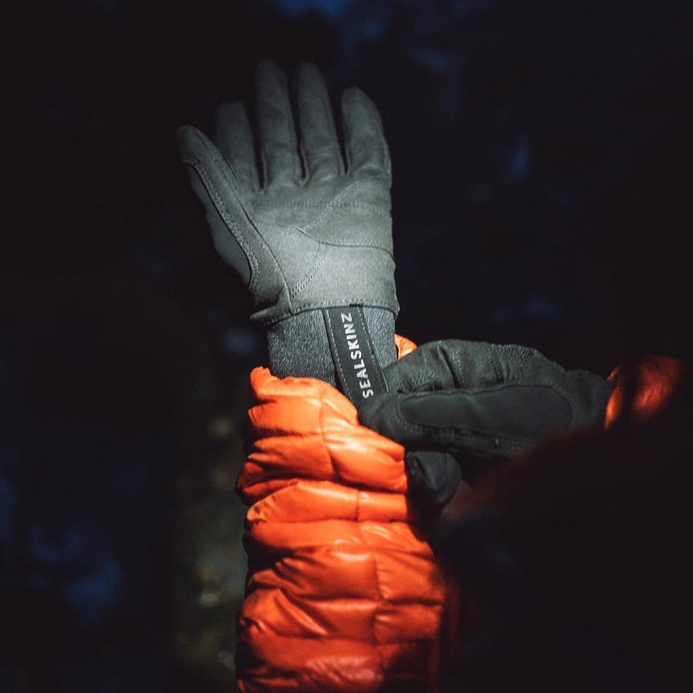 Sealskinz Unisex Sealskinz Water Resistant All Weather Glove - Black