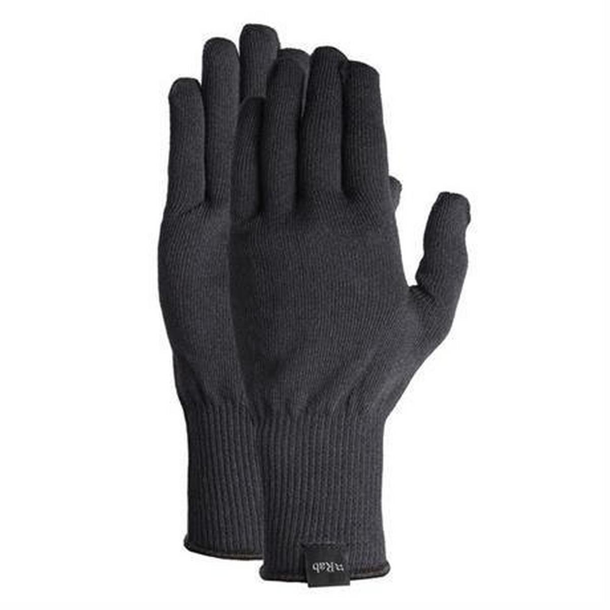 Rab Men's Rab Stretch Knit Gloves - Black