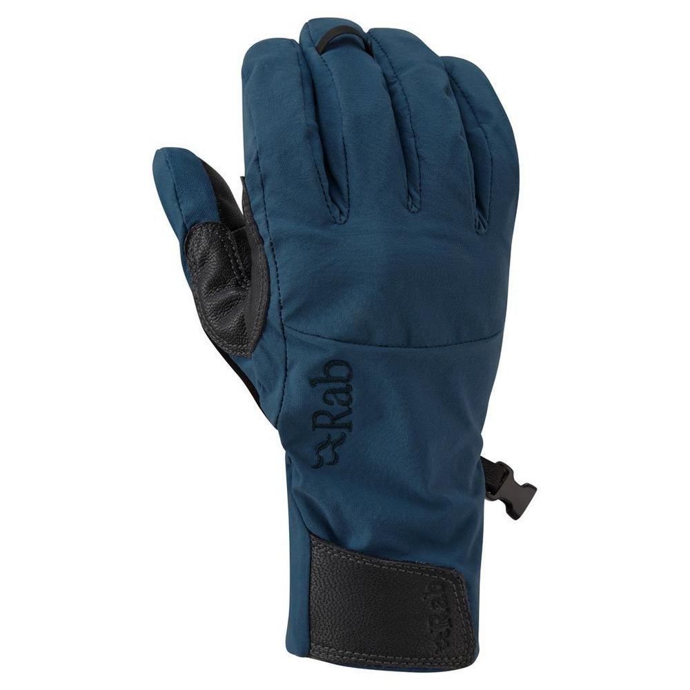 Rab Gloves Vapour-Rise SOFTSHELL Ink