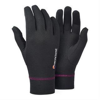 Gloves Women's Power Dry Black/Saskatoon Berry