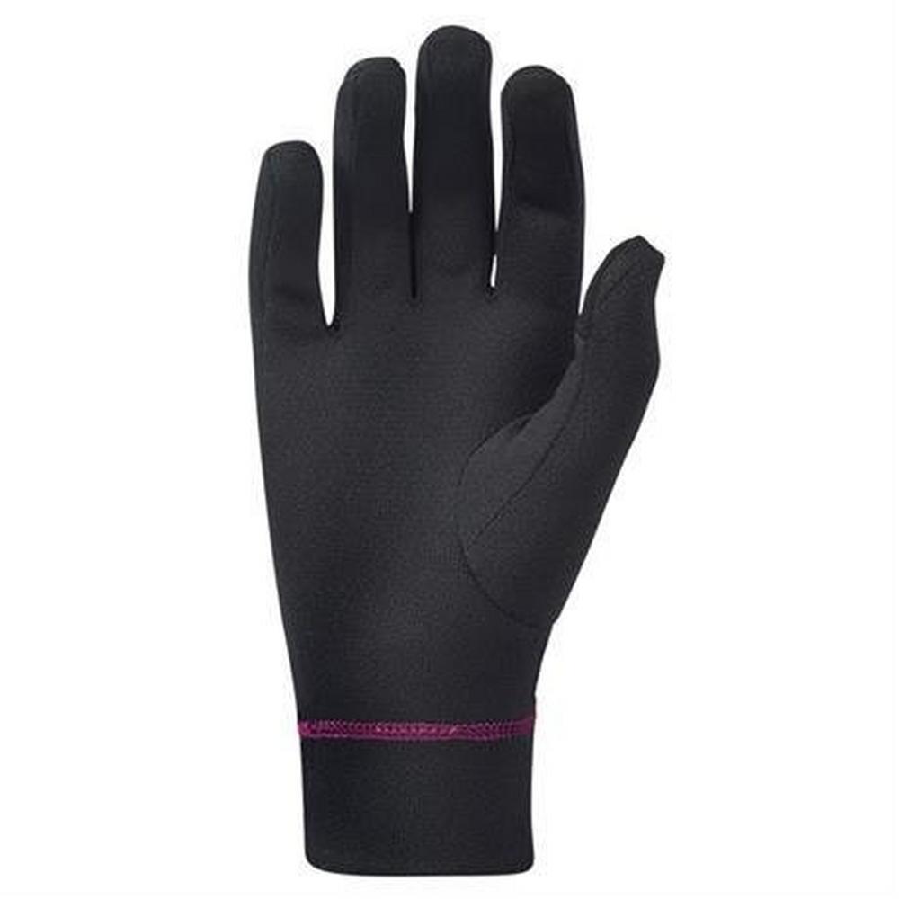 Montane Gloves Women's Power Dry Black/Saskatoon Berry