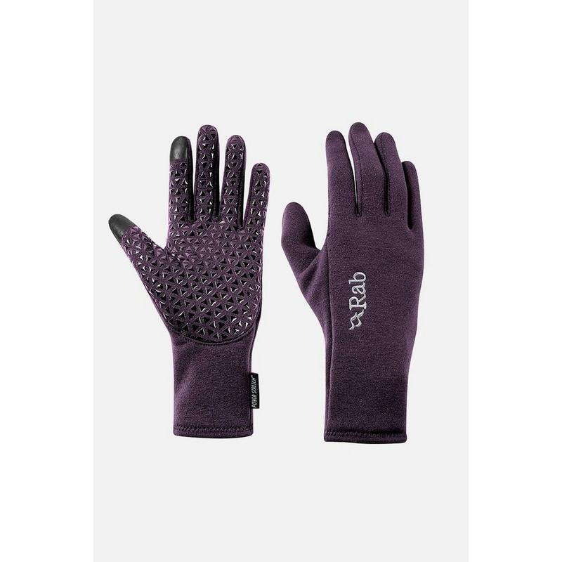 Women's Rab Power Stretch Contact Glove - Purple