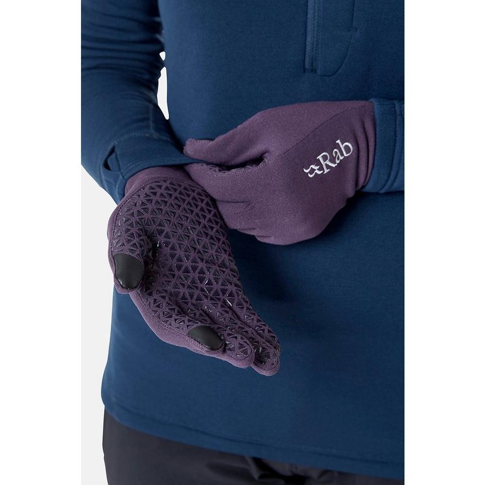 Rab Women's Rab Power Stretch Contact Glove - Purple