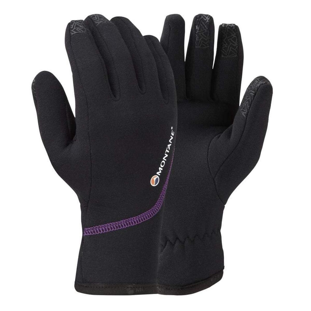 Montane Women's Montane Powerstretch Pro Glove - Black