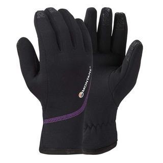 Women's Montane Powerstretch Pro Glove - Black