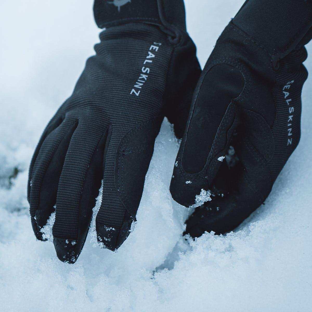 Sealskinz Unisex Waterproof All Weather Glove - Black