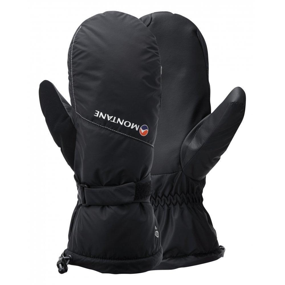 Montane Gloves SOFTSHELL Men's Extreme Mitts Black/Mercury