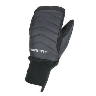 Unisex Sealskinz Waterproof All Weather Lightweight Insulated Mitten - Black