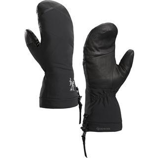 Unisex Arc'teryx Waterproof Fission SV Mittens - Black