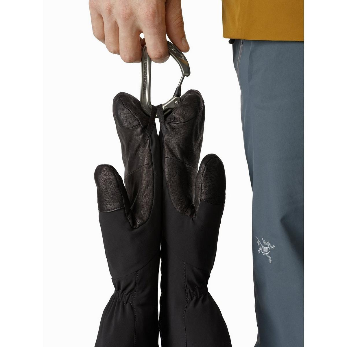 Arcteryx Unisex Arc'teryx Waterproof Fission SV Mittens - Black
