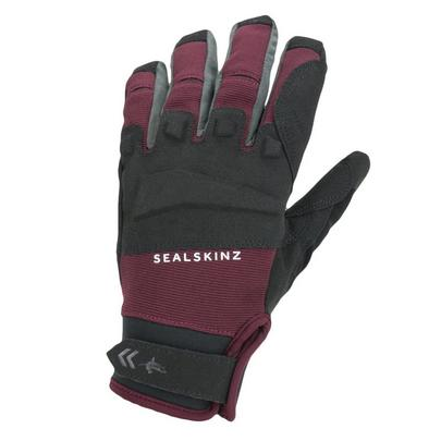 Sealskinz Waterproof All Weather MTB Glove - Red