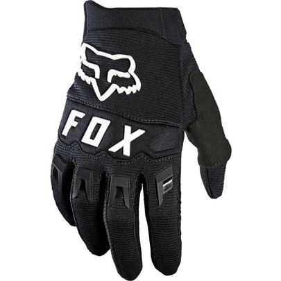Fox Youth Dirtpaw MTB Glove -  Black/White