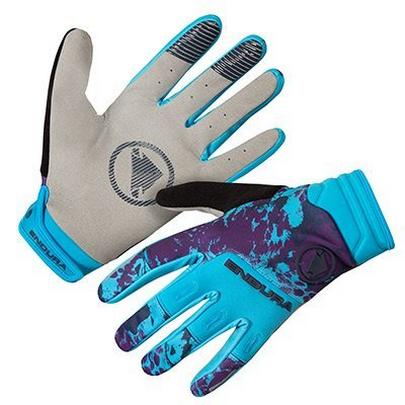 Endura Men's Singletrack Windproof Glove - Electric Blue