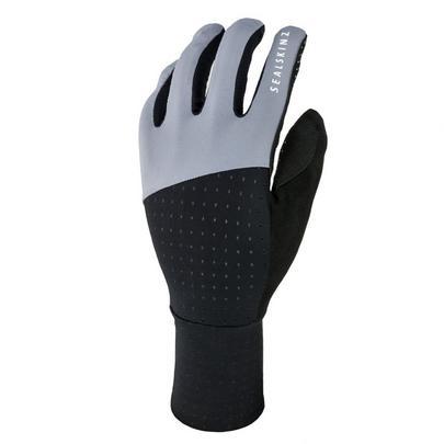 Sealskinz Men's Solo Super Thin Cycle Glove - Black/Grey