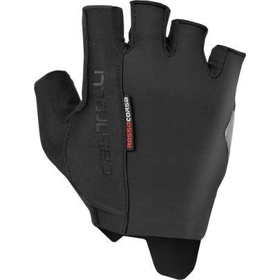 Castelli Men's Rosso Corsa Espresso Glove - Black