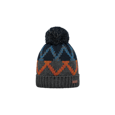 Barts Jared Beanie - Dark Heather