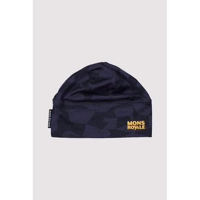 Mons Royale Tech Under Helmet Beanie - 2020 - 9 Iron Camo