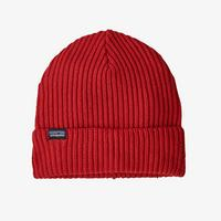 Fisherman's Rolled Beanie - Hot Ember