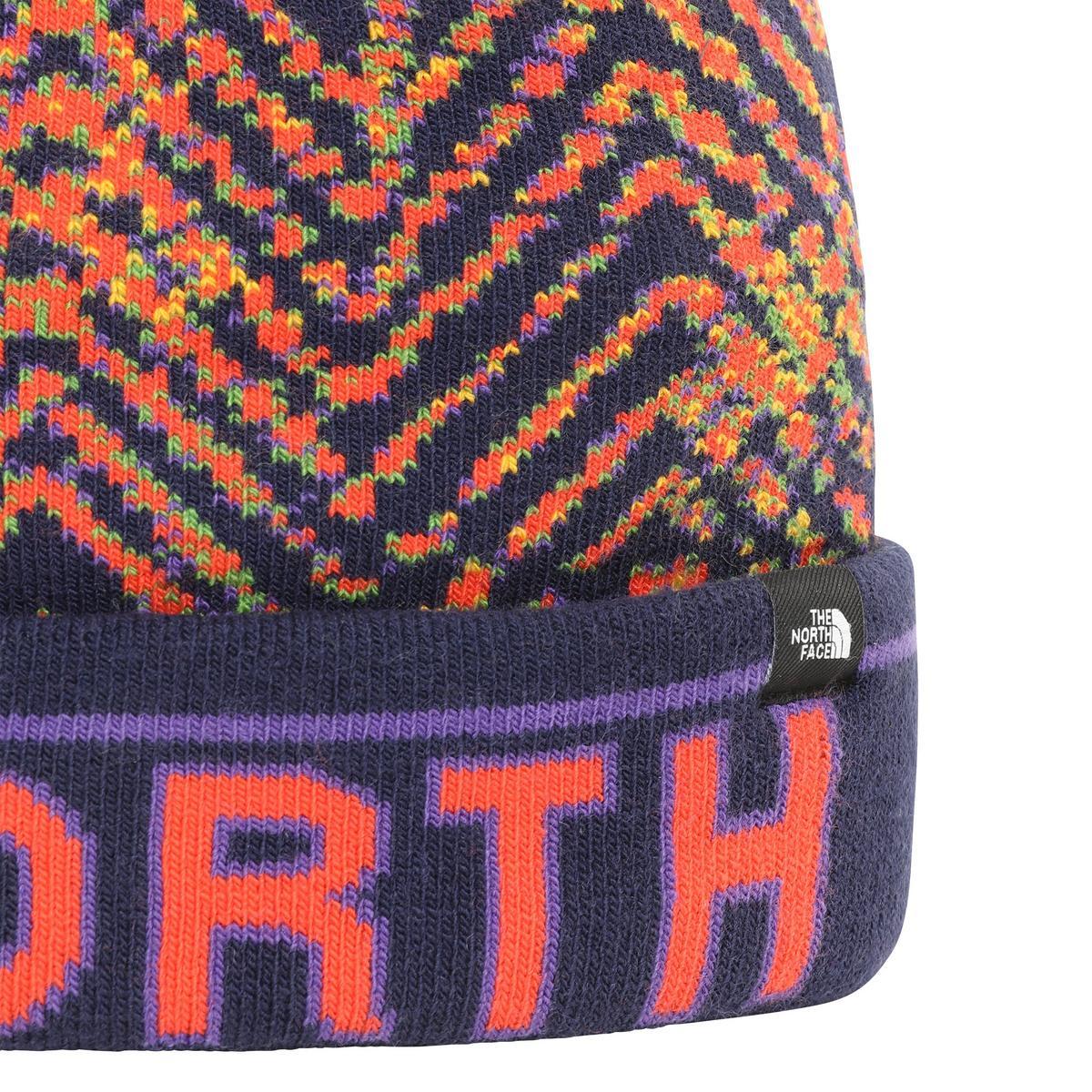 The North Face Kid's Ski Tuke - Navy Shibori Tie-Dye Print