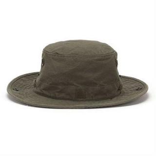 Tilley Hat T3 The Wanderer Snap-up Medium Brim Olive