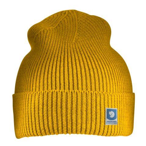 a91cab1e0ba Yellow Fjallraven Men s Greenland Cotton Beanie. Quick buy