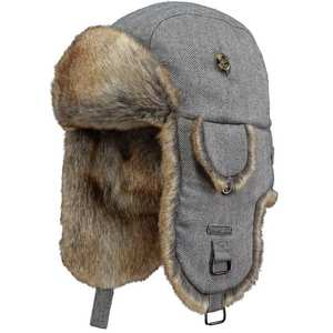 Hat Women's Kamikaze Bomber Grey Herringbone