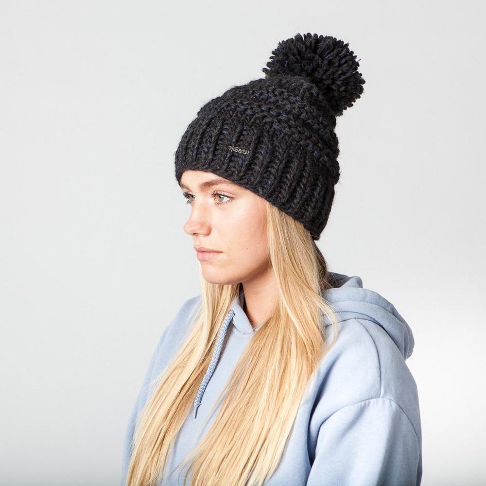 Barts Hat Women's Jasmin Beanie Dark Heather
