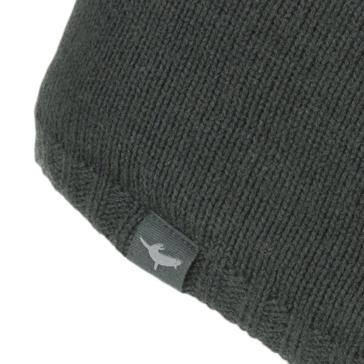 Sealskinz Unisex Sealskinz Waterproof Beanie Hat - Black