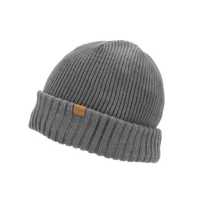 Sealskinz Waterproof Cold Weather Roll Cuff Beanie - Grey