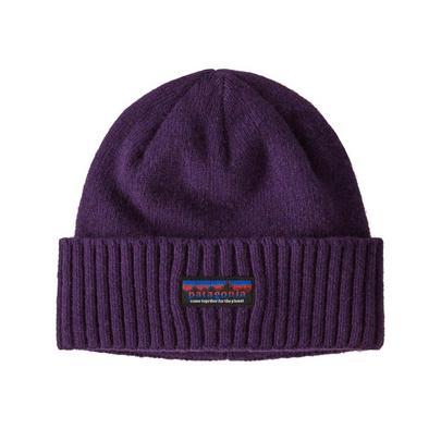 Patagonia Unisex Brodeo Beanie - Purple