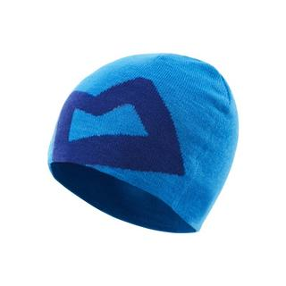 Men's Branded Knitted Beanie - Blue