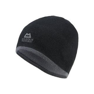 Men's Plain Knitted Beanie - Black Shadow