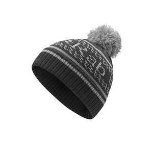 Men's Rock Bobble Hat - Ebony