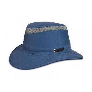 Tilley Hat T5MO Airflo Medium Brim Organic Cotton Mid-Blue