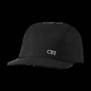 Unisex Storm Ascent Shell Rain Cap - Black