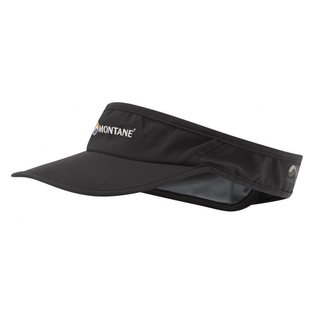 Montane Hat VIA Visor HVIVI Black