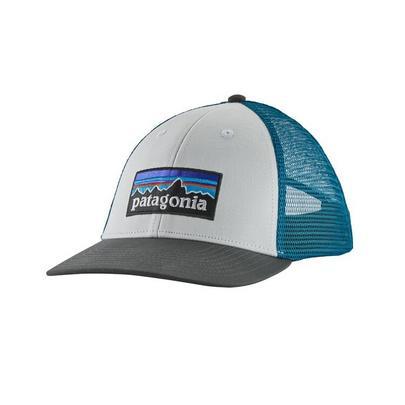 Patagonia P-6 Logo LoPro Trucker Hat - White
