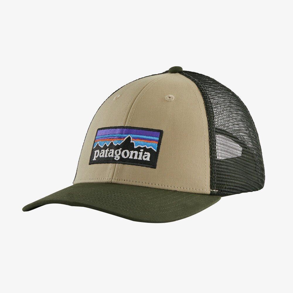 Patagonia U P6 Logo Lopro Trucker Hat - Green