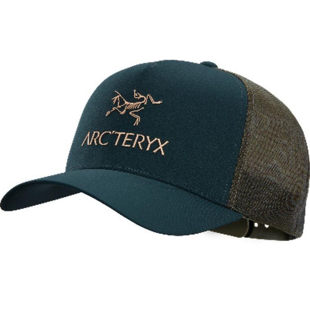Arcteryx Unisex Logo Trucker Hat - Navy