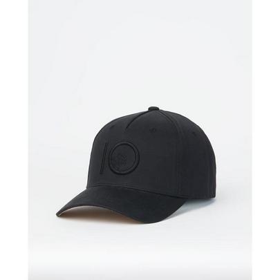 Tentree Men's Logo Cork Brim Altitude Hat - Black