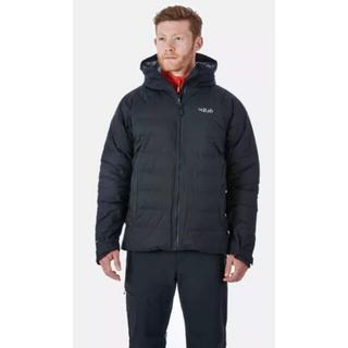 Men's Rab Valiance Waterproof Down Jacket - Black