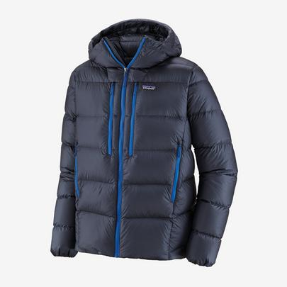 Patagonia Men's Fitz Roy Down Hoody - Navy