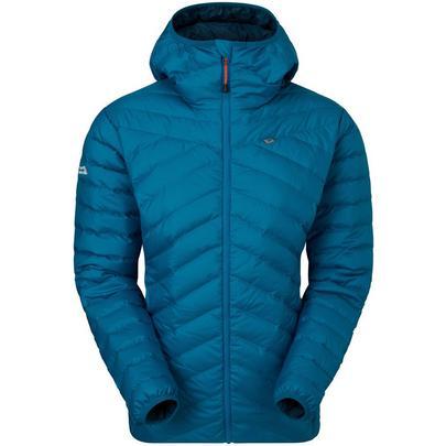 Mountain Equipment Women's Earthrise Hooded Jacket - Mykonos Blue