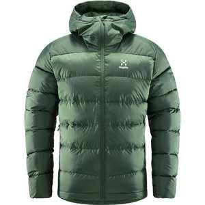Men's Beild Down Hooded Jacket - Green