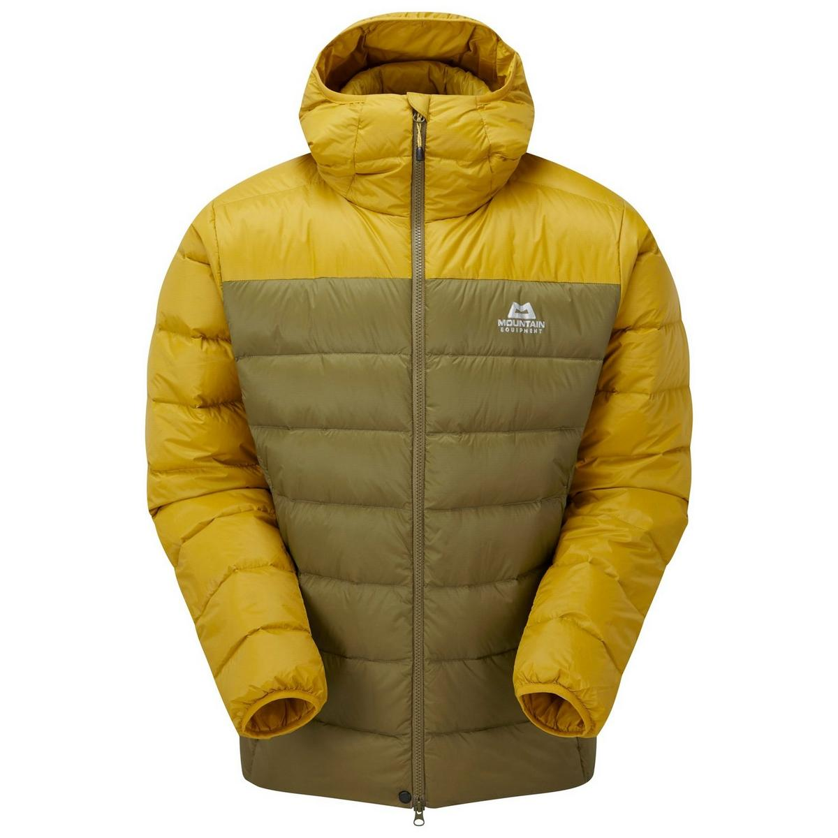 Mountain Equipment Men's Skyline Mountain Equipment Hooded Jacket - Yellow