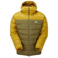 Men's Skyline Hooded Jacket - Yellow